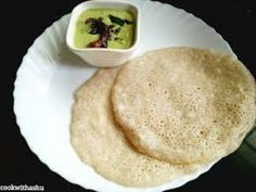 Ingredients cup Coconut milk 1 cup Tapioca flour 1 tsp flax seed meal salt as needed water if needed green chili (optional) veggies (optional) Goan Recipes, Fried Fish Recipes, Coconut Recipes, Indian Food Recipes, Cooking Recipes, Chai Recipe, Dosa Recipe, Konkani Recipes, Ginger Chutney