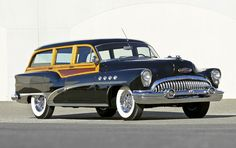 1953 Buick Roadmaster Estate Wagon Us Cars, Sport Cars, Ford Focus Wagon, Station Wagon Cars, Automobile, Buick Envision, Buick Roadmaster, Woody Wagon, Cars