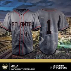 Now available to purchase!: Atlanta Baseball ... Check it out here! http://jerseychamps.com/products/copy-of-atlanta-basketball-jersey-tank-top?utm_campaign=social_autopilot&utm_source=pin&utm_medium=pin