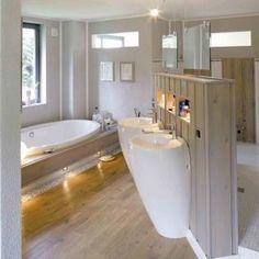 Moderne badkamers van Haacke Haus GmbH Co. KG