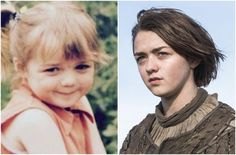 The 'Game of Thrones' cast – Then and Now #GOT
