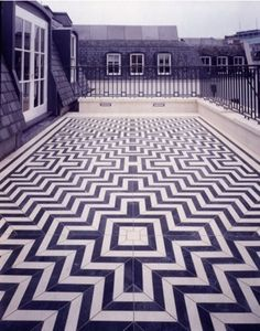 This terrace floor would be amazing outside or inside any home!    www.AmosEvents.com