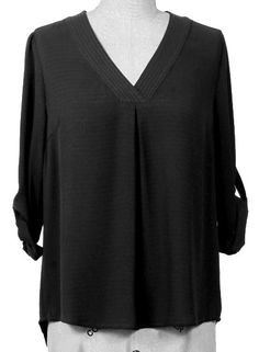 We just got in the BEST new Black V Neck Shirt!!!  A FALL MUST HAVE!  Order today at http://wildtyboutique.com/products/black-v-neck?utm_campaign=social_autopilot&utm_source=pin&utm_medium=pin