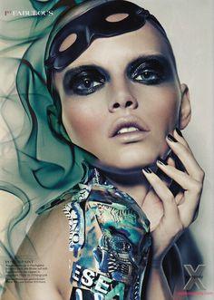 Lenka photographed by Julia Saller for 1st Magazine December 2011 _