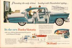 https://flic.kr/p/RaVsyc | 1956 Ford Fordor Victoria Advertisement Time April 2 1956 | 1956 Ford Fordor Victoria Advertisement Time April 2 1956