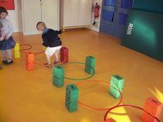 Our circuit resource can be used in so many ways Gross Motor Activities, Movement Activities, Gross Motor Skills, Sensory Activities, Physical Activities, Toddler Activities, Learning Activities, Preschool Gymnastics, Kindergarten Activities