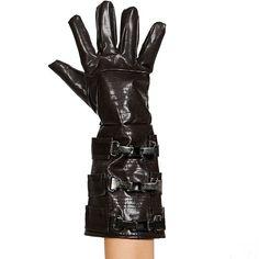 Kids Star Wars Anakin Skywalker Costume Gauntlet Gloves, Boy's, Brown
