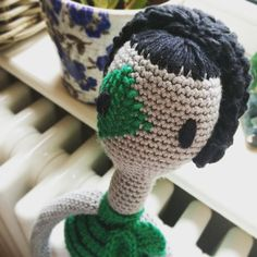 The kid has called her melody storm - which I think fits perfectly #amigurami #rockndollstar #indiecraft