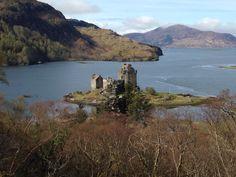 Eileen Donan castle in the Scottish Highlands