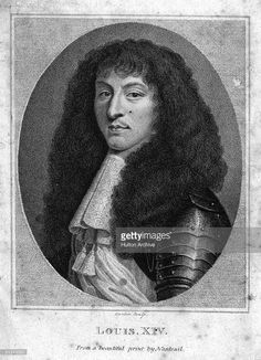 Circa 1661, King Louis XIV of France, (1638 - 1715), king of France from 1643. He was known as 'The Sun King'.