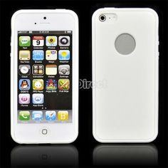 $4.20 Silica Gel Snap On Case Cover Skin for Apple iPhone 5 5G 5th White