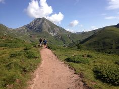 Hikers above Merano