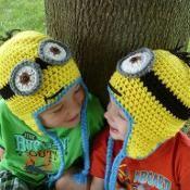 Crochet Minion Hat Despicable Me - via @Craftsy
