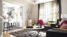 Dame blanche | Les idées de ma maison © TVA publications | Yves Lefebvre #deco #salon #sejour
