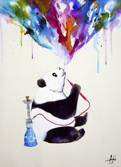 "My Shisha Panda ""Chai"""
