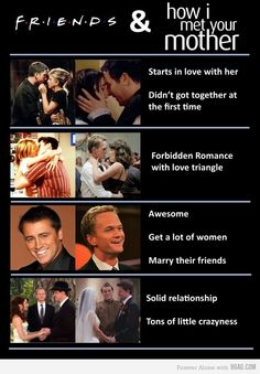 FRIENDS & how i met your mother <3