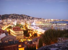 Dusk in Cannes - the most serene time of the day during the Cannes Lions