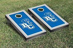 Bethel College Pilots Cornhole Game Set Border Version *** Find out more about the great product at the image link.