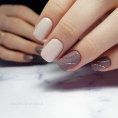 Mismatched nail art design ideas
