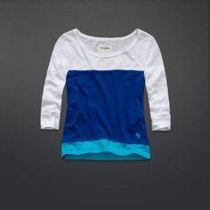 Abercombie Kids Blue Shirt