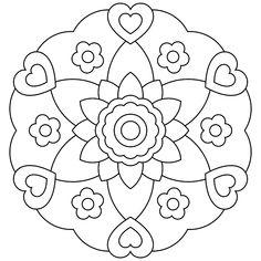 Printable Mandala
