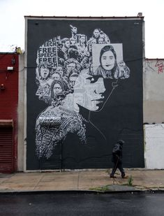 Brooklyn, NY artist Icy and Sot #artistaday #icyandsot #artistoftheday #StreetArt #art