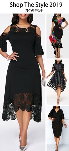 Swans Style is the top online fashion store for women. Shop sexy club dresses, jeans, shoes, bodysuits, skirts and more. Lovely Dresses, Elegant Dresses, Women's Fashion Dresses, Dress Outfits, Black Dresses Online, Perfect Fall Outfit, Chic Dress, African Dress, Latest Fashion For Women