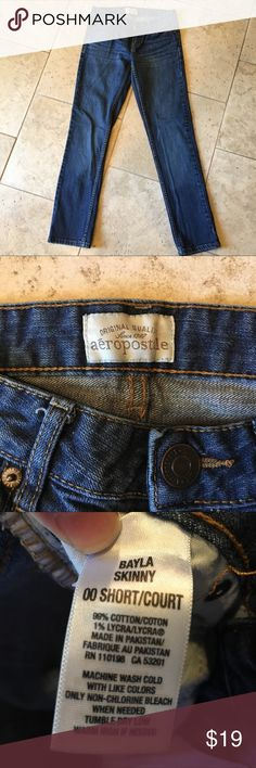 Aeropostale Bayla Skinny Size 0 Short Cute Aeropostale Jeans for Back to School. Size 0 Short Skinny. Like New Aeropostale Jeans Skinny