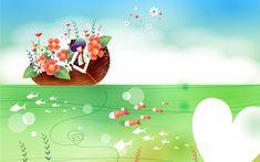 Fairy tales cartoon illustration