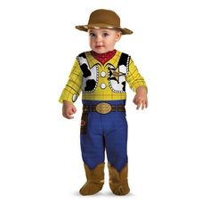 Disguise Disney Pixar Toy Story Costume - Woody-12-18 months Disguise Costumes  http://www.amazon.com/gp/product/B00JCA82LI/ref=as_li_tl?ie=UTF8&camp=1789&creative=390957&creativeASIN=B00JCA82LI&linkCode=as2&tag=httpwwwpin040-20&linkId=Y6UWG4AVM3MD7JC4 Disclosure: affiliate link.