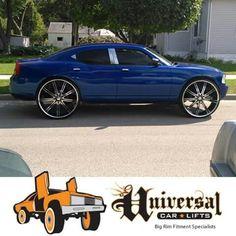 Chrysler 300 Srt8, Donk Cars, Big Wheel, Car Painting, Exotic Cars, Mopar, Custom Cars, Stupid, Dodge