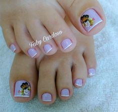 23 that will make you bright summer nails designs glitter fun 019 Pedicure Designs, Manicure E Pedicure, Toe Nail Designs, Cute Acrylic Nails, Toe Nail Art, Fun Nails, Bright Summer Nails, Summer Toe Nails, Summer Toe Designs
