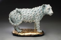 Adrian Arleo is a ceramic sculptor. Her work is focused on the human figure, often combining it with animal imagery, and other elements of the natural world.
