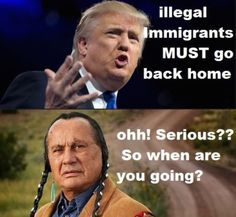 """""""As part Native American myself, I find this absolutely wonderful. XD """" http://thehumortrain.tumblr.com/"""