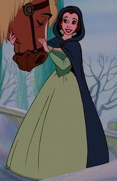 Belle (green dress) - Beauty and the Beast