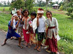 Bali`s village kids