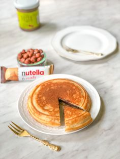 Omlet a'a nutella b-ready – Upieczona Healthy Sweets, Healthy Eating, Nutella, Breakfast Recipes, Sweet Tooth, Food Porn, Food And Drink, Tasty, Snacks