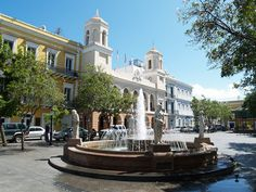 Plaza de Armas (arms square) is Old San Juan's main square, on San José Street. Description from pinterest.com. I searched for this on bing.com/images
