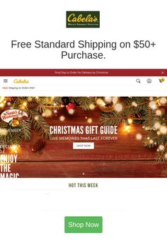 Best deals and coupons for Cabelas