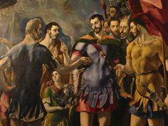 El-Escorial, Spain, for more please visit http://painting-in-oil.com/artworks-El-Greco-page-1-delta-ALL.html