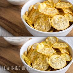 Salt and Vinegar Squash Chips (raw, vegan, gluten free) - These healthy dehydrated chips are a great alternative to potato chips. Perfect for gardeners! Vegetable Chips, Vegetable Snacks, Healthy Chips, Healthy Snacks, Squash Chips, Dehydrated Vegetables, Veggies, Dehydrator Recipes, Dehydrator Potato Chips