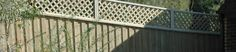 I've always like the trellis look on the top of wood fences. My great-grandmother's house had a fence like this, so it might be partially  nostalgia. I'm looking at pulling the ugly barbed-wire fence out of my backyard and putting in something nice. This fence would look great with my house.