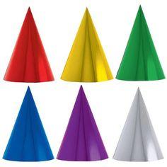 Cone Party Hats (1dz) Amscan http://www.amazon.com/dp/B005X6OE0S/ref=cm_sw_r_pi_dp_JKZXtb04TB8EPQHD