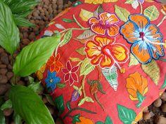 8 Almofadas de chita no blog Detalhes Magicos
