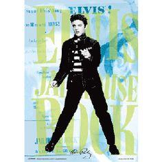 Elvis Presley 3D Effect Poster Dance | Captain Hook Merchandise