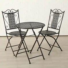 Záhradné sety – až 1067 záhradných sedačiek a zostáv pre vás | Biano Folding Chair, Outdoor Furniture, Outdoor Decor, Art Nouveau, Dining Chairs, Exterior, Table, Vintage, Design