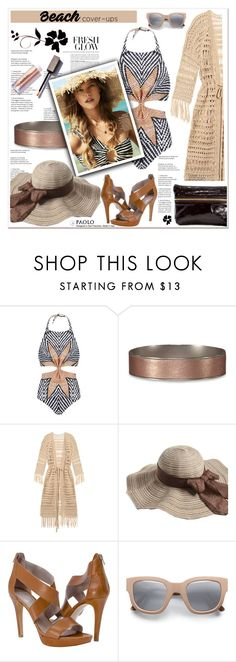 """""""The Big Cover-Up and PaoloShoes"""" by spenderellastyle ❤ liked on Polyvore featuring Mara Hoffman, Abercrombie & Fitch, Melissa Odabash, Acne Studios, Soma and coverups"""