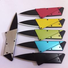 1 pc the 3rd version steel cover credit card knife, folding safety knife, outdoor survival pocket wallet tool,top quality