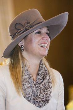 I like the hat, Princess Maxima.