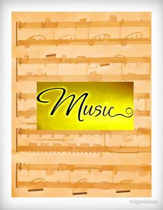 Music  T-Shirts, Leggings, Scarves, Tote Bags, On Canvas, Framed Prints & More!